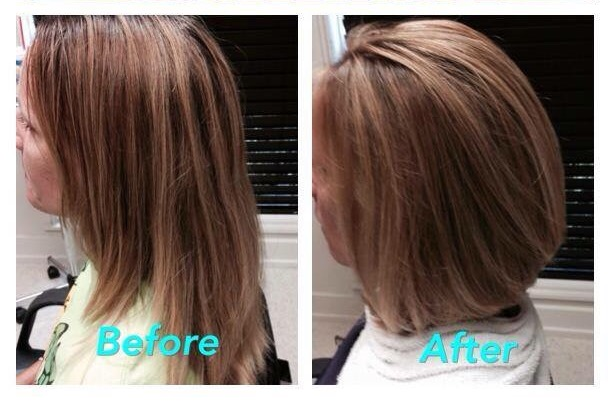 before after cut